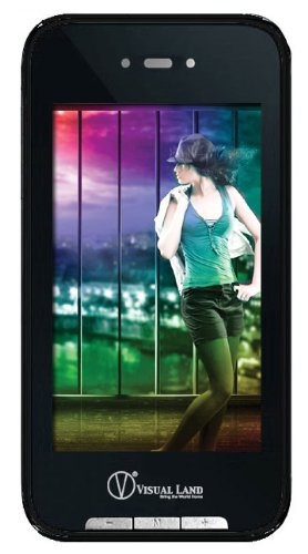 Christmas Visual Land V-Touch Pro 4 GB Video MP3 Player with Touchscreen and Built-in Camera (Black) Deals
