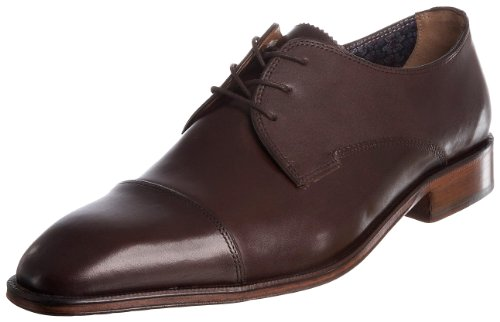 Florsheim Men's Emmett Brn Lea Shoe 14059-200 11.5 UK