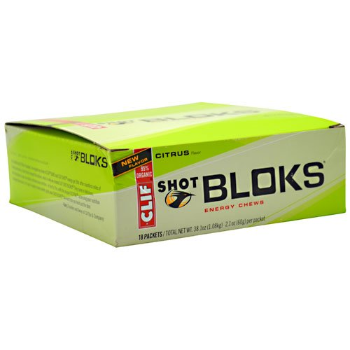 Clifbar Clif Shot Bloks Citrus, One Size - Men'S