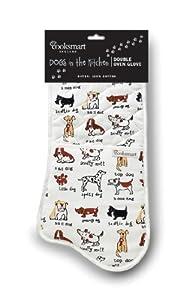 Cooksmart Dogs Premium Double Oven Glove