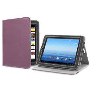 Cover-Up Nextbook Premium8HD (NX008HD8G) (8-inch) Version Stand Cover Case - Purple from Electronic-Readers.com