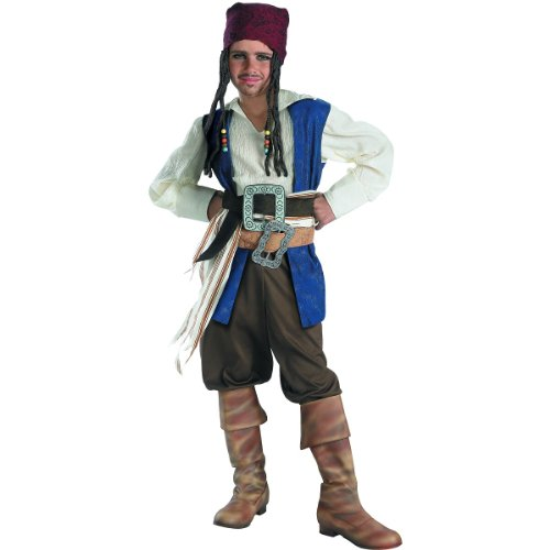 Captain Jack Sparrow Classic Costume - X-Large
