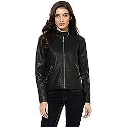Cashewnut Women Basic Solid Jackets -L