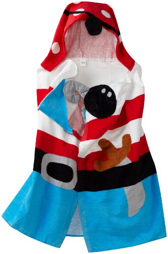 Stephen Joseph Little Boys' Hooded Towel, Pirate, One Size