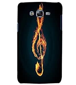 SAMSUNG GALAXY J5 FIRE Back Cover by PRINTSWAG