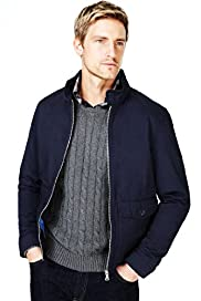 Big & Tall Blue Harbour Pure Cotton Barracuda Jacket