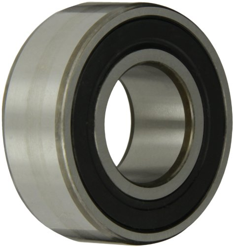 """Skf 3206 A-2Rs1Tn9/Mt33 Double Row Ball Bearing, Converging Angle Design, 32° Contact Angle, Abec 1 Precision, Double Sealed, Plastic Cage, Normal Clearance, 30Mm Bore, 62Mm Od, 15/16"""" Width, 4590.0 Pounds Static Load Capacity, 6750.00 Pounds Dynamic Load"""