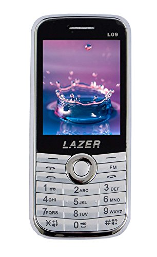 Surya Lazer Heavy Battery Dual Sim Camera Mobile in Silver Color
