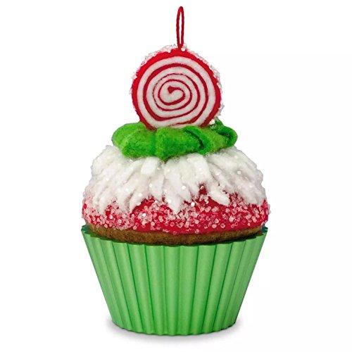 Hallmark 2016 Peppermint Swirl Christmas Cupcakes Ornament