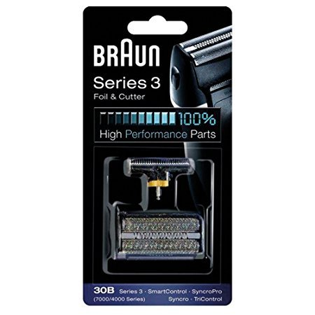 BRAUN 30B 7000 Series 4000 Series Shaver Foil and Cutter Replacement Black Color (Braun 7790 compare prices)