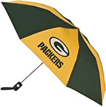 Green Bay Packers Auto Folding Umbrella