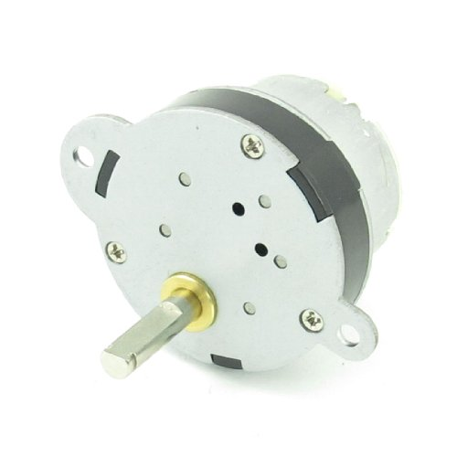 12V 3RPM Torque DC Gear Box Geared Electric Motor for Robot by Amico