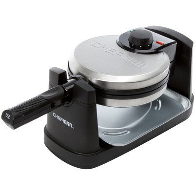 Chefman RJ03-RO Rotating Round Belgian Waffle Maker from Unknown