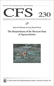 The herpetofauna of the Mexican state of Aguascalientes (Courier