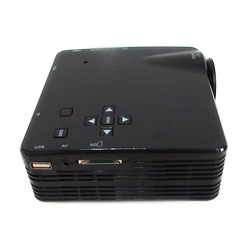 LightInTheBox 320x240 500 LM Mini Home Entertainment LCD Projector with HDMI Input 3.5mm Stereo ...