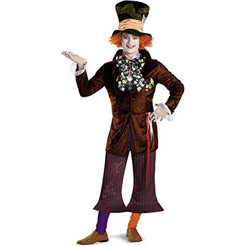 Mad Hatter Deluxe Movie Adult Costume - 42-46