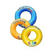 1pc/PVC ABCD Patr�n adultos Seguridad hinchable flotadores piscina juguetes nataci�n Anillo piscina C�rculo Boya Flotante vueltas
