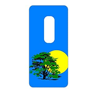 Vibhar printed case back cover for Moto X Play NiceViewBlue
