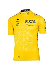 Le Coq Sportif - Official Tour de France Yellow Jersey - Color : Yellow
