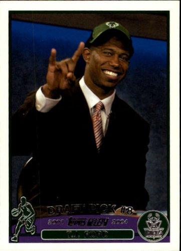 2003 Topps Basketball Rookie Card (2003-04) #228 T.J. Ford Near Mint/Mint
