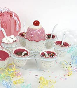 ICE cream SUNDAE PARTY Social KIDS TOPPING stand