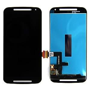 LCD Screen Touch Digitizer Assembly For Motorola Moto G2 2nd XT1068 XT1063 XT1064 Black+ Tools