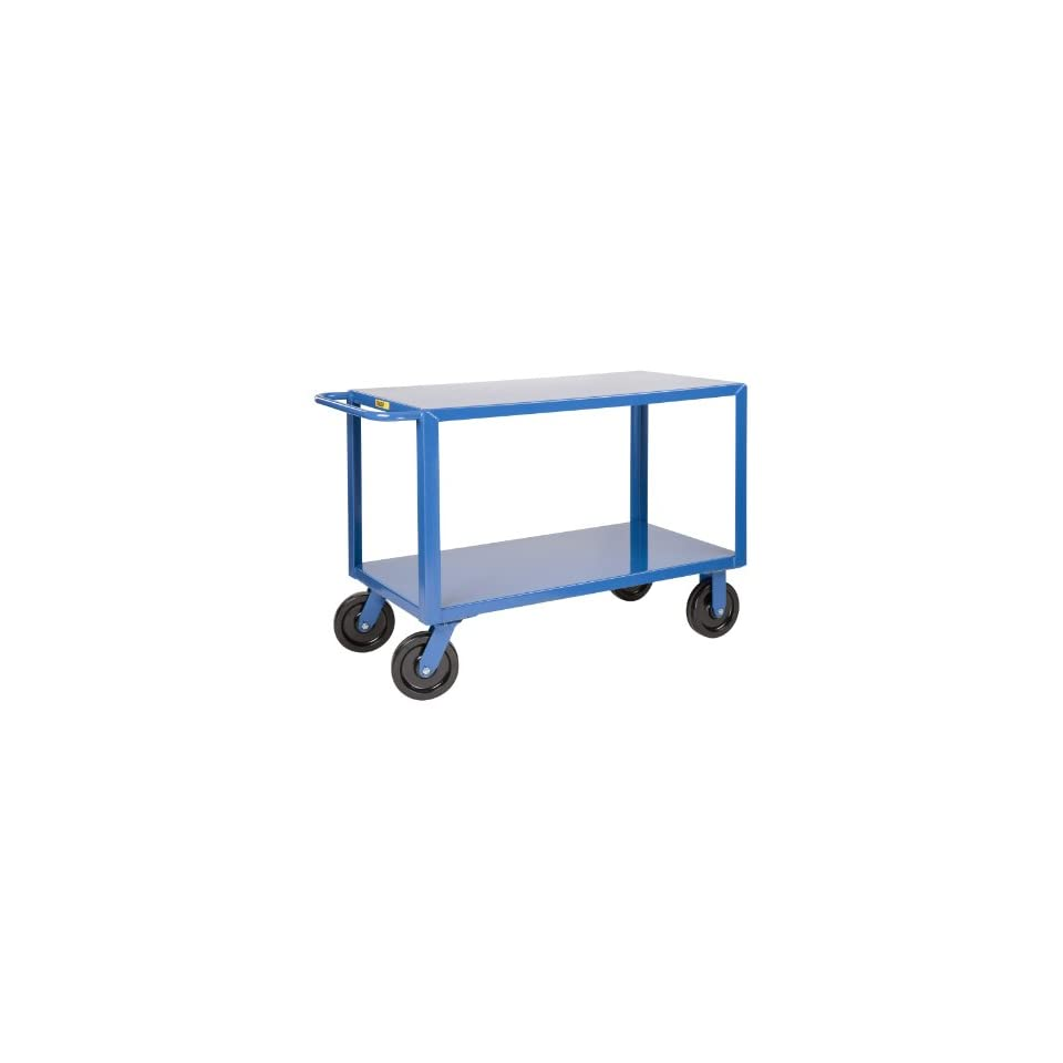 Little Giant GH 8V2 4 Extra Heavy Duty Shelf Truck, 5000 lbs Capacity, 60 Length x 30 Width x 36 Height, 2 Shelves