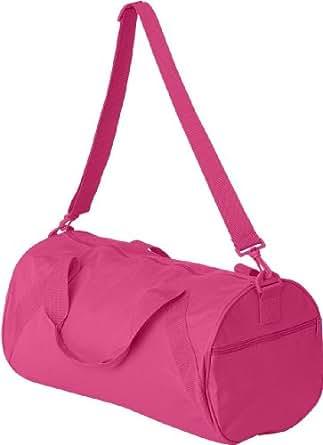 8805 UltraClub Barrel Duffel Bag (Hot Pink) (One)