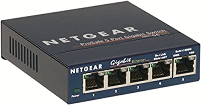 Netgear GS105NA Prosafe 5-Port Gigabit Switch
