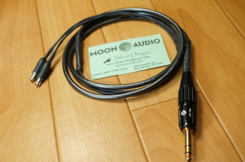 Moon Audio Silver Dragon V3 Sennheiser Hd800 Replacement Upgrade Cable
