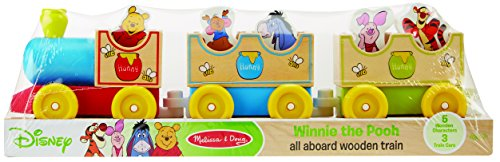 Disney Baby Winnie the Pooh Wooden All Aboard Train