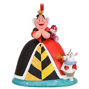 Disney Queen Of Hearts Ornament Home Kitchen