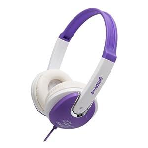 Groov-e GV590VW Kids DJ Style Headphone - Violet/White