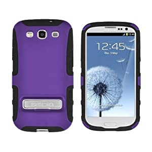 Seidio ACTIVE Case with Kickstand for the Samsung Galaxy S3 S III -Purple