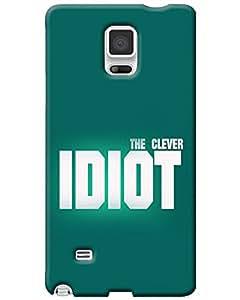 WEB9T9 Samsung Galaxy Note 4 back cover Designer High Quality Premium Matte Finish 3...