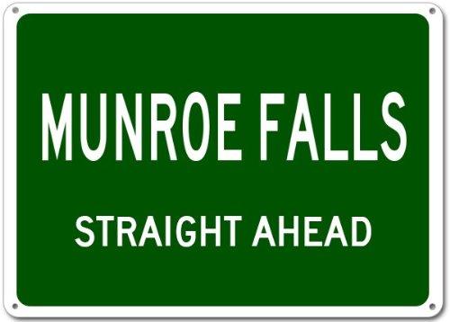 Munroe Falls City Sign