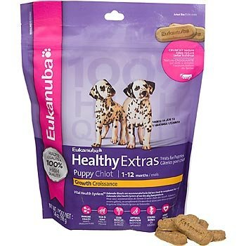 Eukanuba Healthy Extras Puppy Growth Treat Biscuits, 14 oz
