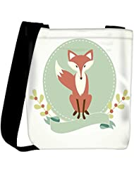 Snoogg A Fox Womens Carry Around Cross Body Tote Handbag Sling Bags