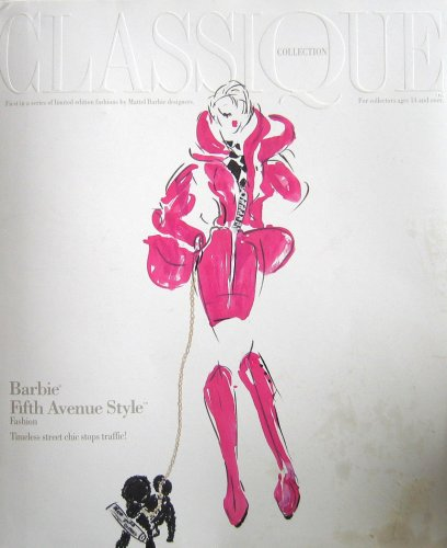 Barbie Fifth Avenue Style Fashion - Limited Edition Fashions Classique Collection by Carol Spencer (1992 Timeless Creations, Mattel)