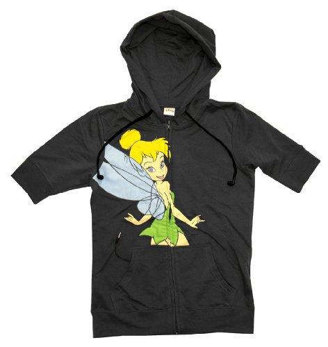 Peter Pan Tinkerbell Disney Hoodie Buddie Juniors Headphones Ear Buds Hoodie