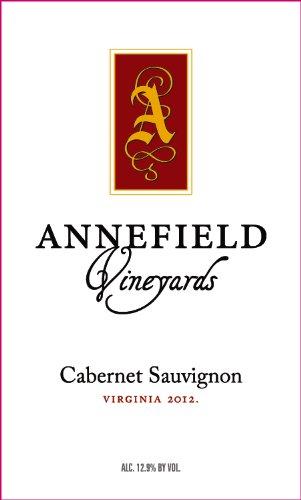 2012 Annefield Vineyards Cabernet Sauvignon 750 Ml