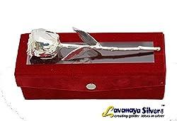 Lavanaya Silver.in Natural Rose With Velvet box