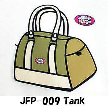 JumpFromPaper  ジャンプフロムペーパー(海外正規店商品) アニメから飛び出したようなバッグ! JFP-009 Tank