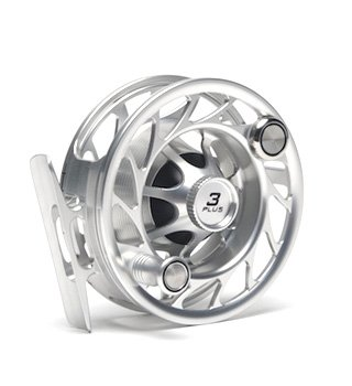New Hatch 3 Plus Finatic Fly Fishing Reel Clear/Black