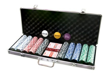 Mallette de poker professionnelle