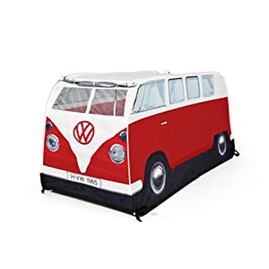 Amazon.com: VW Camper Van Pop Up Play Tent for Kids- Red: Toys & Games