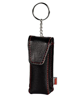 Hama Fashion USB Stick Case with Keyring - Black by Hama