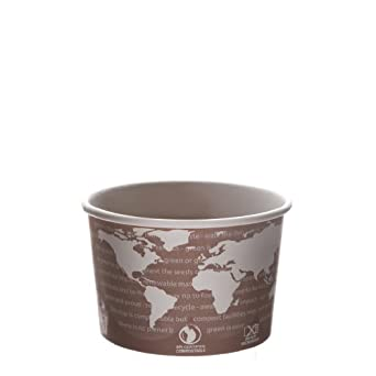Eco-Products EP-BSC8-WA 8 oz World Art Soup Cup Container (Case of 1,000)