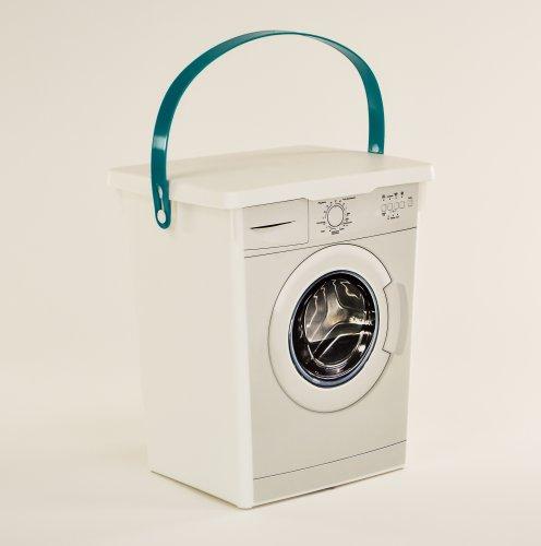 turquoise-handle-plastic-laundry-dishwasher-washing-powder-tablet-detergent-storage-box-container-wi