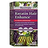 ResVitle Keratin Hair Enhance with Biotin and Resveratrol (Tamaño: 30 servings)